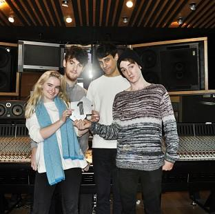 Clean Bandit made it a second successive week at the singles chart summit with their dance track Rather Be (Official Charts Company/PA)
