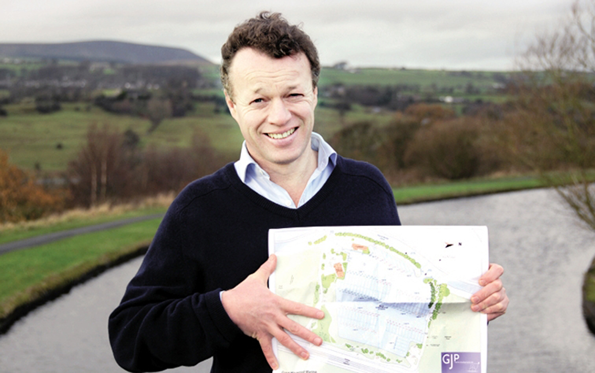 Plans unveiled for canal-side homes on Burnley-Pendle border