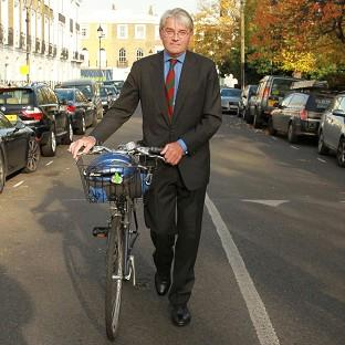 Burnley and Pendle Citizen: Former Tory chief whip Andrew Mitchell outside his north London home