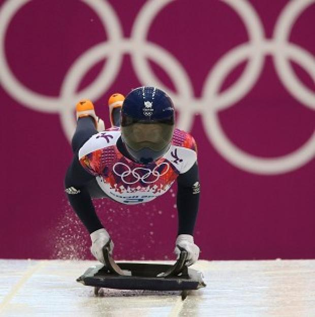 Burnley and Pendle Citizen: Lizzy Yarnold leads the way in Sochi