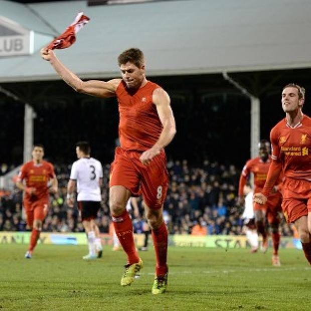 "Burnley and Pendle Citizen: Liverpool's Steven Gerrard likes the ""dark horses"" tag"