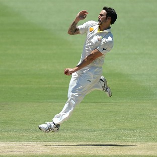 Mitchell Johnson claimed four wickets