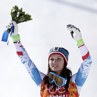 Anna Fenninger won gold in the ladies' super-G (AP)