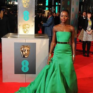 Burnley and Pendle Citizen: Lupita Nyong'o wore a strapless emerald green Dior ballgown to the Baftas