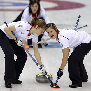 Great Britain's women's curlers are through to the semi-finals (AP)