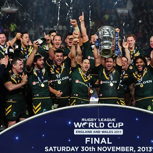 Australia won the 2013 Rugby League World Cup at Old Trafford