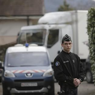 Police in the French Alps are questioning a man over the m