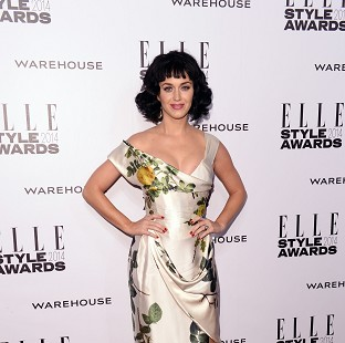 Katy Perry named woman of the year
