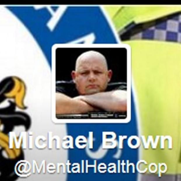 Burnley and Pendle Citizen: Twitter feed of Michael Brown @MentalHealthCop has been reinstated after an internal inquiry by his force.