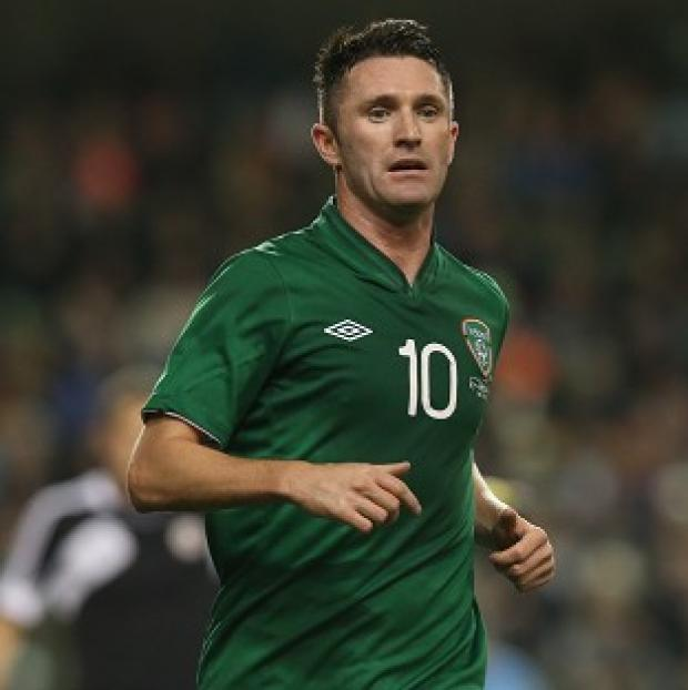 Burnley and Pendle Citizen: Robbie Keane will not feature in the game against Serbia