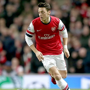Mesut Ozil missed a penalty in Arsenal's midweek loss to Bayern Munich