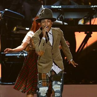 Pharrell Williams is auctioning off his Vivienne Westwood hat