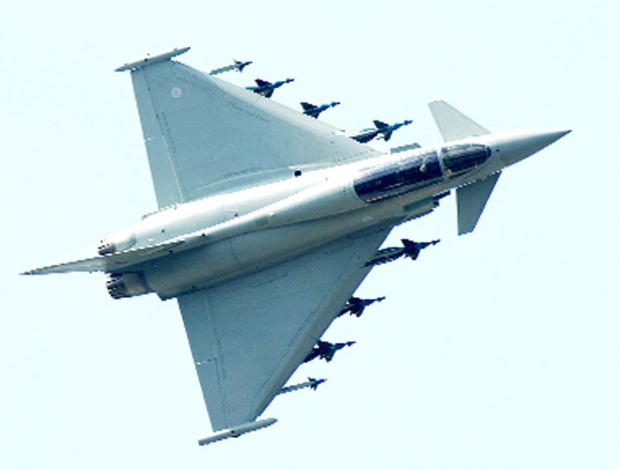 Burnley and Pendle Citizen: BAE's Euro Fighter plane