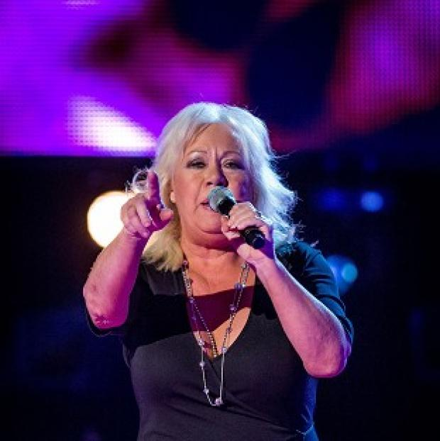 Burnley and Pendle Citizen: Teresa Vasiliou sang a song she had written for her music idol and the Voice judge Sir Tom Jones (BBC/PA)