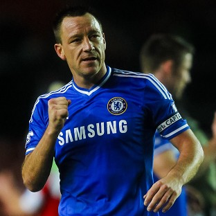 John Terry's last-gasp goal gave Chelsea victory over Everton