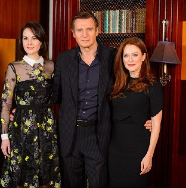 Burnley and Pendle Citizen: Liam Neeson stars with Michelle Dockery and Julianne Moore in Non-Stop
