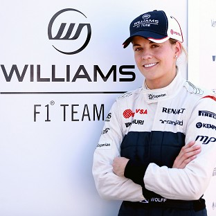 Susie Wolff hopes to compete in a grand prix