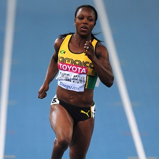 Veronica Campbell-Brown has been cleared to race again