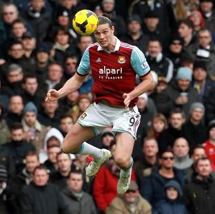 Andy Carroll is eager to return for West Ham