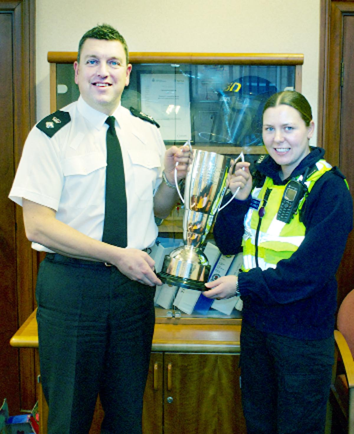 East Lancs Police canal rescue heroine honoured