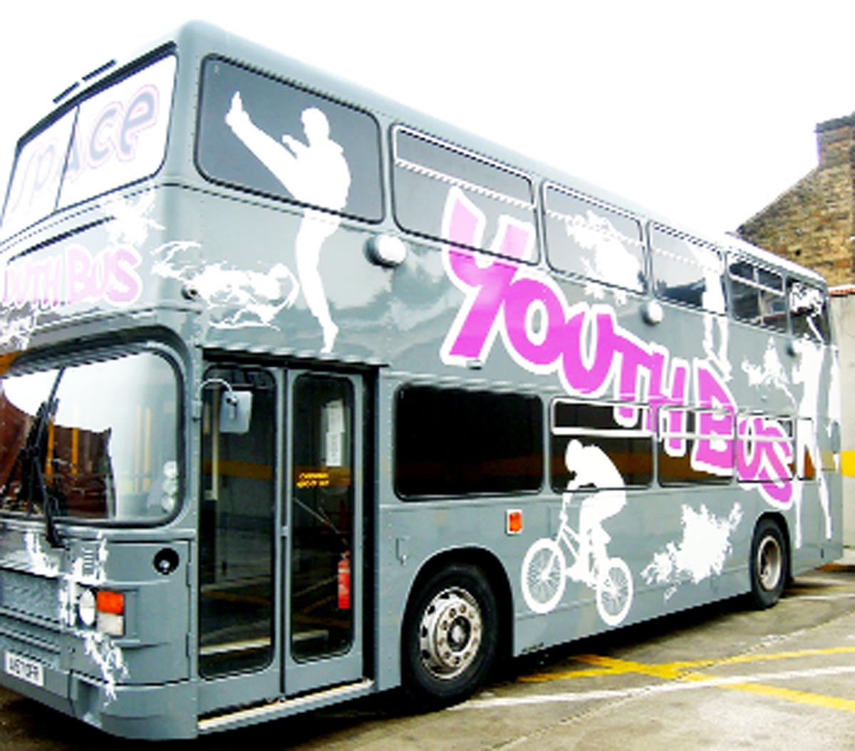 The Space Youth Bus, which has received £250,000 from the Big Lottery Fund to enable it to keep running for another three years