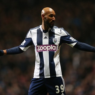 Nicolas Anelka performed the goal celebration against West Ham on December 28
