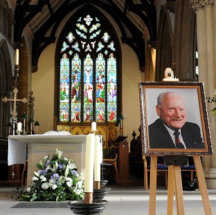 Tom Finney's civic funeral took place in Preston Minster