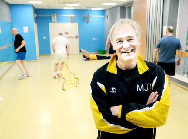 Burnley and Pendle Citizen: Michael Donnelly puts his class through its paces.