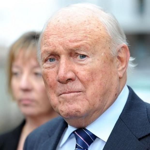 Burnley and Pendle Citizen: Stuart Hall has pleaded not guilty to raping two young girls