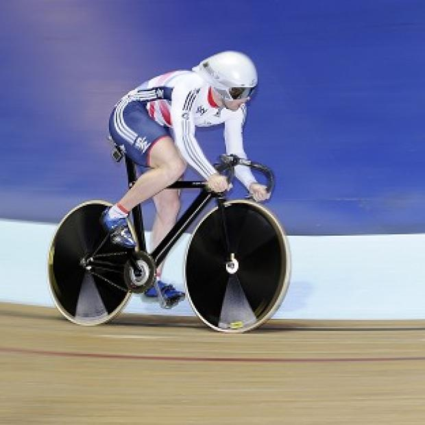 Burnley and Pendle Citizen: Jason Kenny struggled in the men's sprint