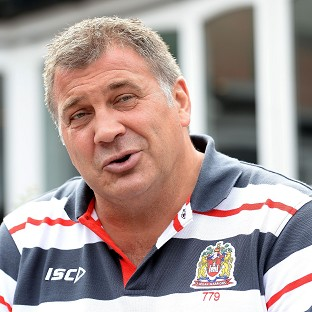 Shaun Wane was pleased to see Wigan return to winning ways