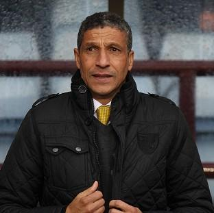 Chris Hughton is prepared to take any criticism tha