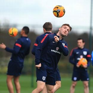 Adam Lallana says that Luke Shaw, pictured, deserves his chance