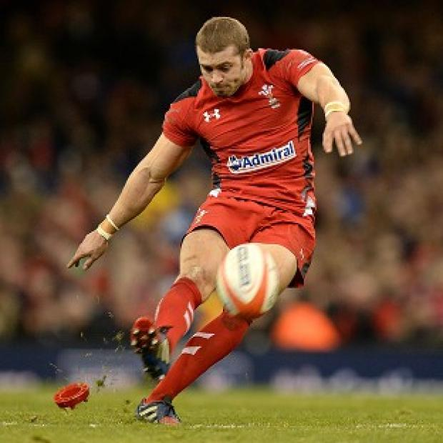 Burnley and Pendle Citizen: Leigh Halfpenny, pictured, has described Mike Brown as a 'great player'