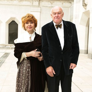 Prunella Scales and Timothy West are canal boat enthusiasts.