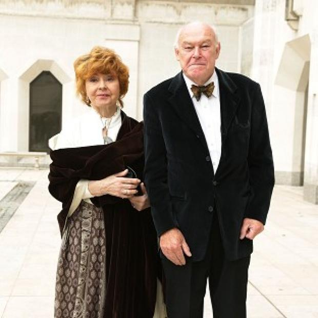 Burnley and Pendle Citizen: Prunella Scales' husband Timothy West has described how the Fawlty Towers star has been suffering from 'a sort of mild Alzheimer's'