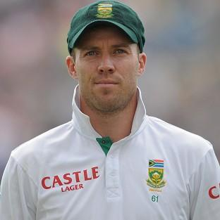 AB de Villiers will sit down with the coach and team select