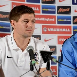 Steven Gerrard, left, is excited about playing in the World Cup