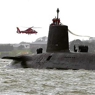 Burnley and Pendle Citizen: HMS Vanguard is to have its reactor refuelled at a cost of 120 million pounds