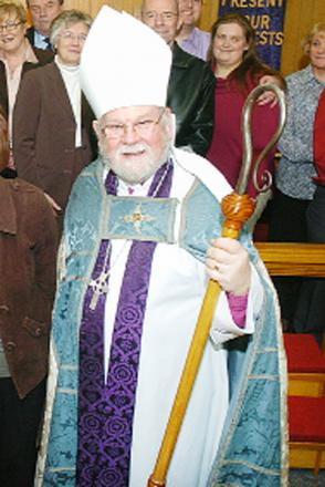 Burnley cleric receives Archbishop's address