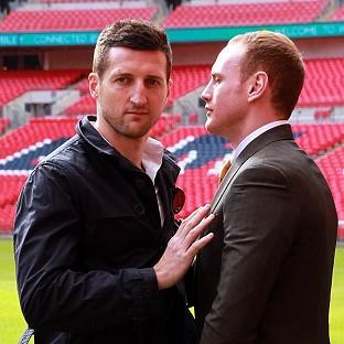 Burnley and Pendle Citizen: Carl Froch, left, and George Groves, right, go head to head once again in May