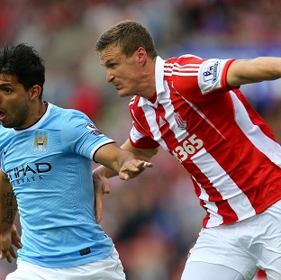 Robert Huth has not featured for the Stoke first team since sustaining a knee injury in November.