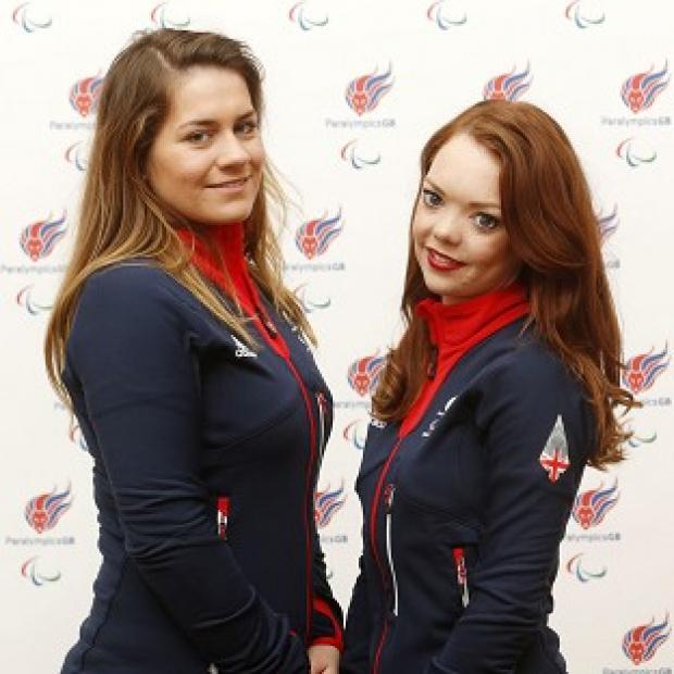Burnley and Pendle Citizen: Jade Etherington, right, and guide Caroline Powell, left, were left disappointed by slalom silver at the Winter Paralympics.