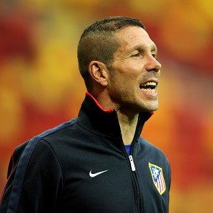 Boss Diego Simeone knows Atletico Madrid will have to face a tough opponent in the Champions League quarter-finals
