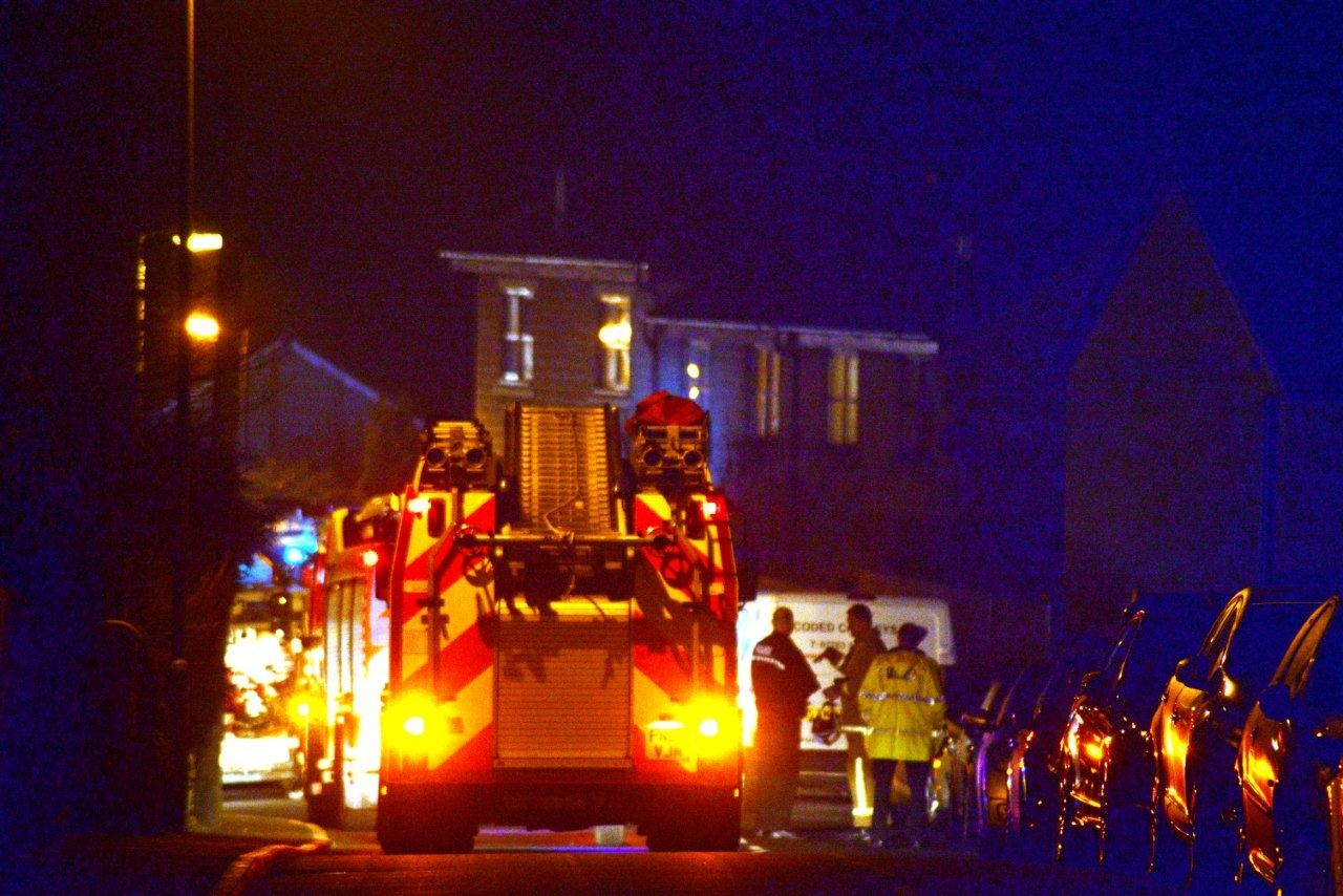 Chatburn House fire