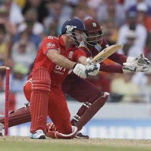 Michael Lumb top-scored with 63 (AP)