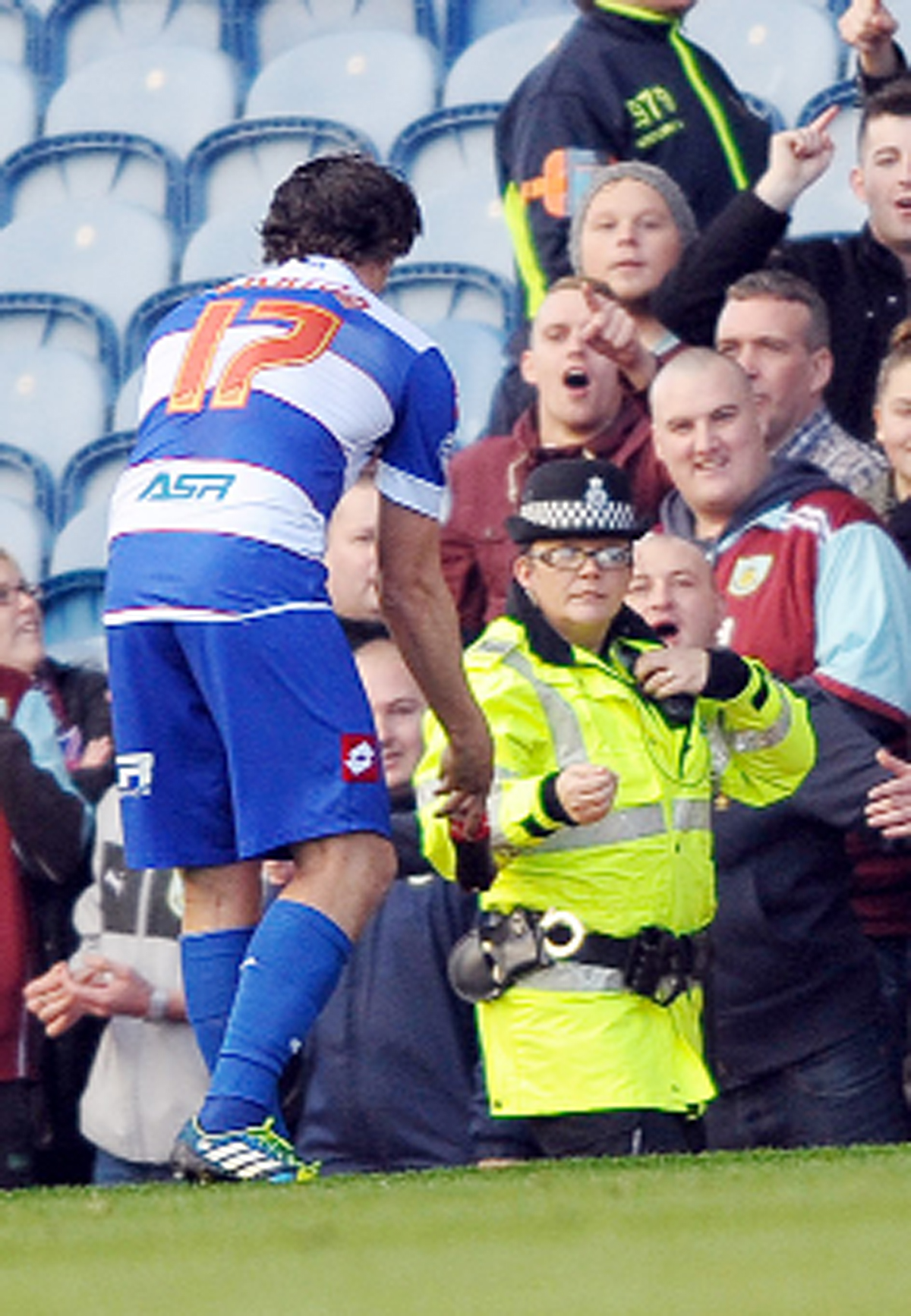 Burnley fan accused of throwing bottle at Joey Barton faces no further action