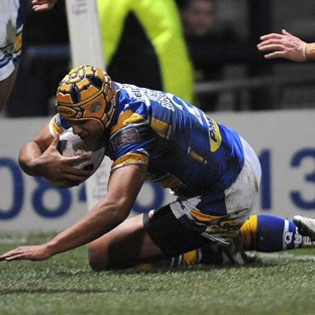 Burnley and Pendle Citizen: Ben Jones-Bishop crossed twice on his return to the Leeds side