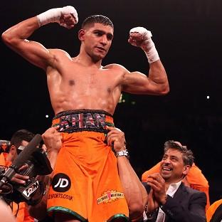 Amir Khan could return to action in May