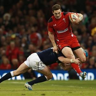 George North scored a brace of tries as W